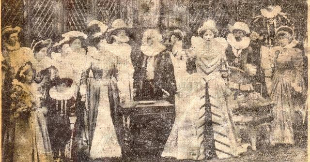 1909 pageant-Queen of Bohemia
