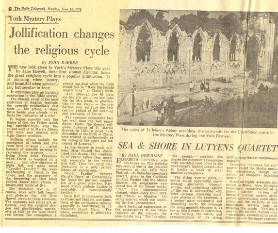 1976 Telegraph Review