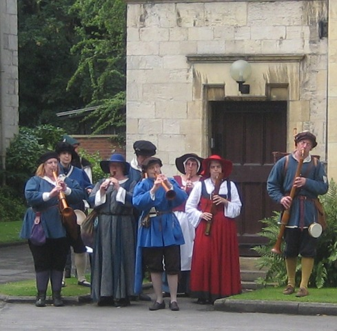 Colchester Waits at Kings Manor