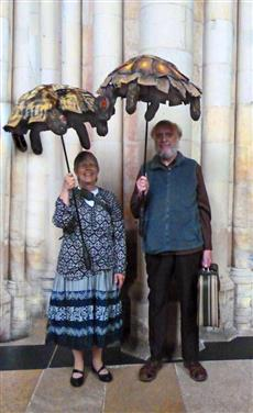 Tortoises were welcomed to the Ark