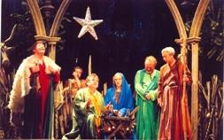 Shepherds at Nativity