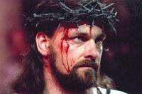 Ray Stevenson as Jesus in the Minster