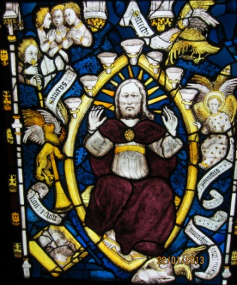 St John - repaired East window